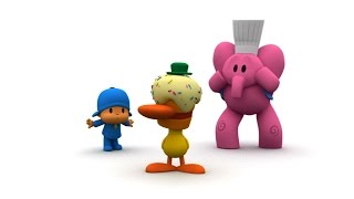 Laughing with Pocoyo