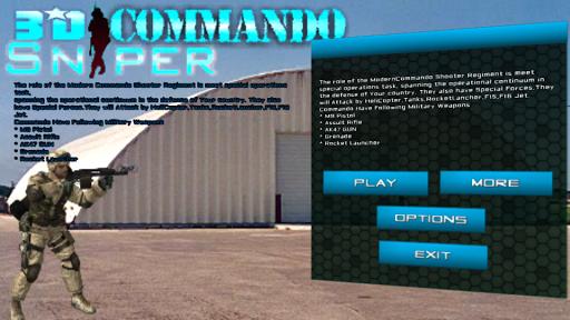 Commando Sniper Terrarist War