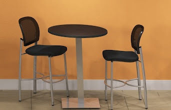Photo: BistroTableSS Base with Valore Stools