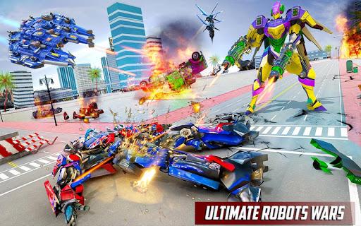 Police Truck Robot Game u2013 Transforming Robot Games 1.0.4 screenshots 4