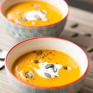 Confit Pumpkin And Chestnut Soup