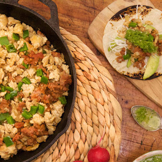Ground Chicken and Chorizo Tacos