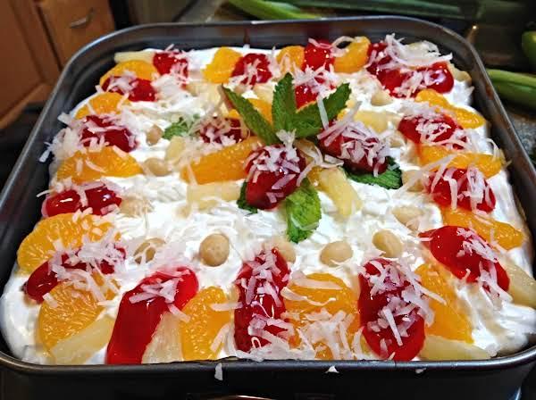Baked Tropical Cheesecake Supreme