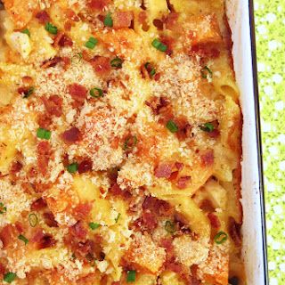 Cheesy Chicken and Sweet Potato Pasta Recipe