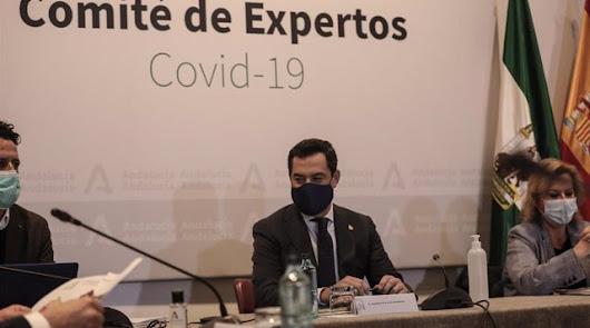 Cierre perimetral en Andalucía pero se permite la movilidad entre provincias