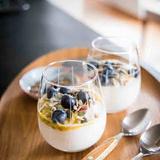 Paleo Passion Fruit Coconut Yogurt Parfait Recipe [AIP, Keto].
