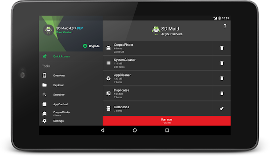 App SD Maid - System Cleaning Tool APK for Windows Phone