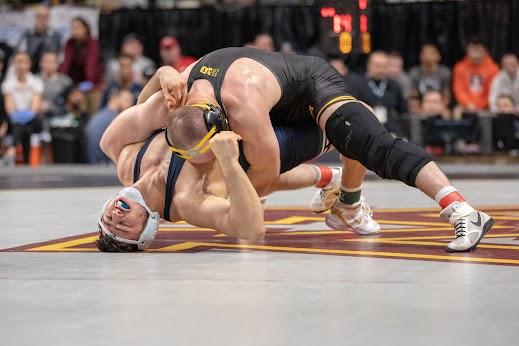 #1 Seed: Alex Marinelli (Iowa)