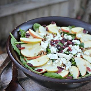 Apple Feta Walnut Salad