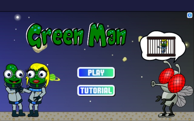 Greenman action-puzzle