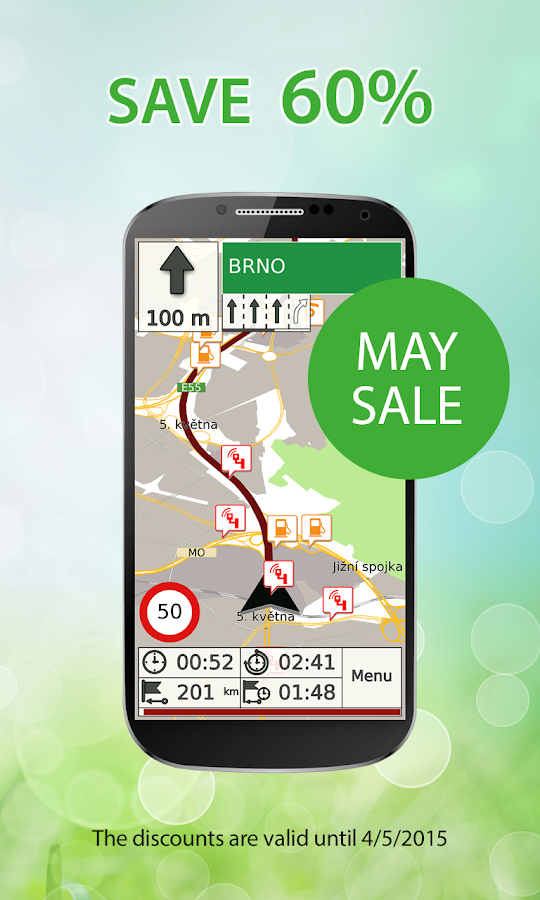 GPS Navigation & Map by Aponia - screenshot