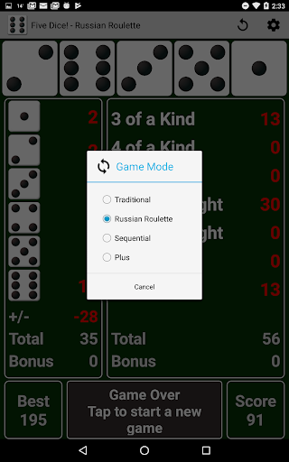 Five Dice! Free android2mod screenshots 10
