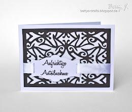 Photo: http://bettys-crafts.blogspot.com/2013/07/aufrichtige-anteilnahme.html