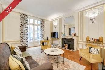 160sqm 3 bedroom apartment for 8 in Champs Elysees~few minutes drive to Arc de Triomphe and the Eiffel