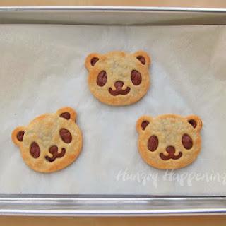 Panda Pastries for Dessert or Breakfast.