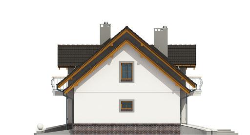 Dom Dla Ciebie 5 z garażem 1-st. A2 - Elewacja prawa