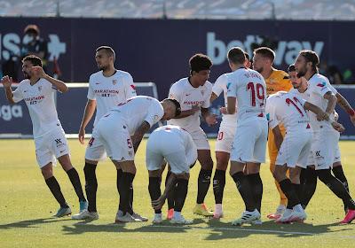 Sevilla kan nog hopen op de titel na nieuwe overwinning