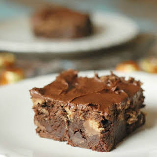 Chocolate Peanut Butter Brownies.