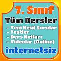 7. Sınıf Tüm Dersler İnternetsiz Testler, Konular icon