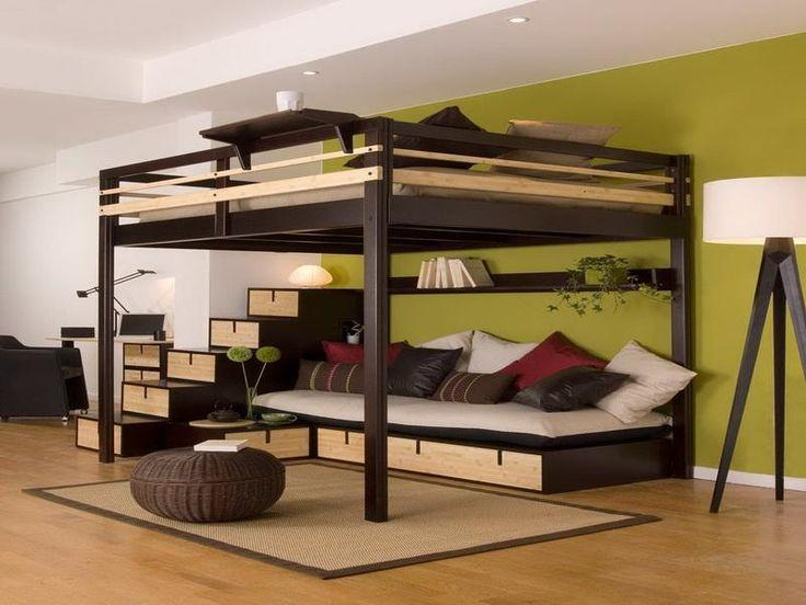 Image result for king size loft bed
