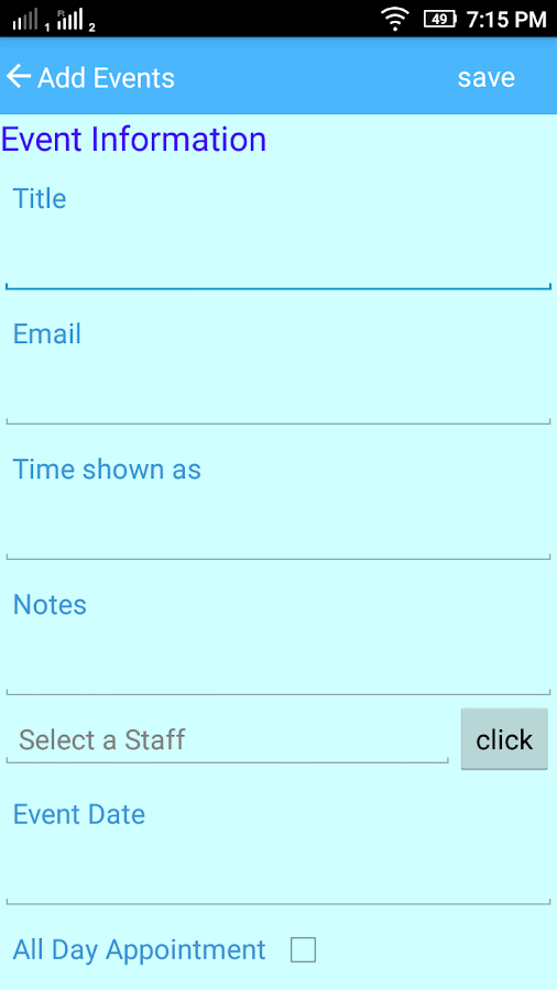 time schedule maker