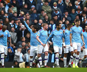 Manchester City s'impose facilement à Burnley