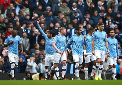 Manchester City s'impose facilement à Burnley