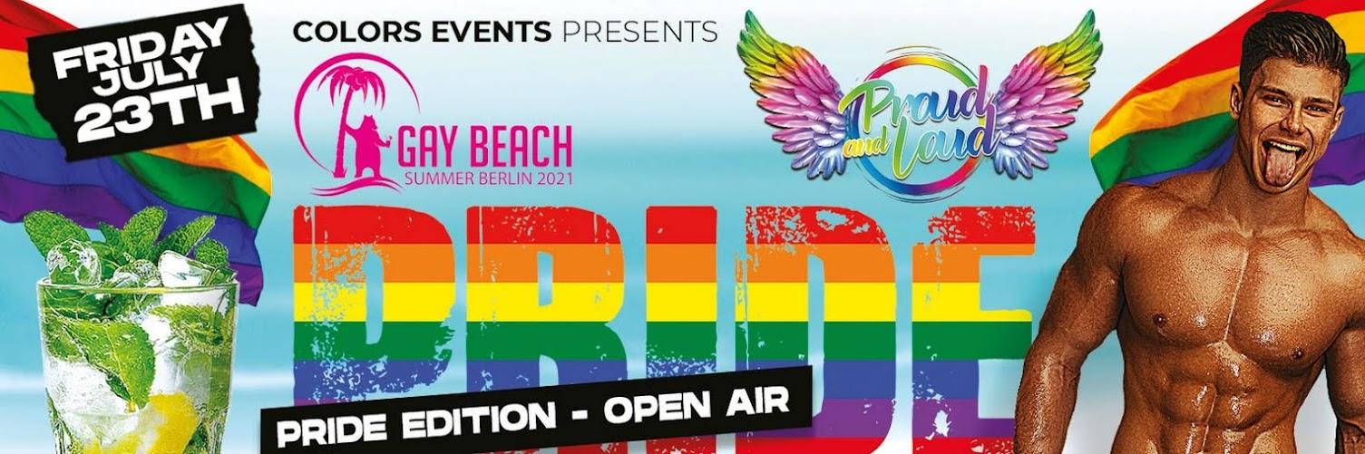 GAY BEACH PRIDE EDITION - OPEN AIR