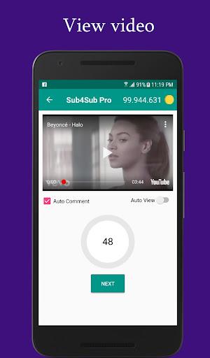 Sub4Sub Pro (No Ads)  screenshots 6