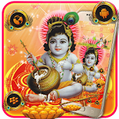 Krishna God Theme