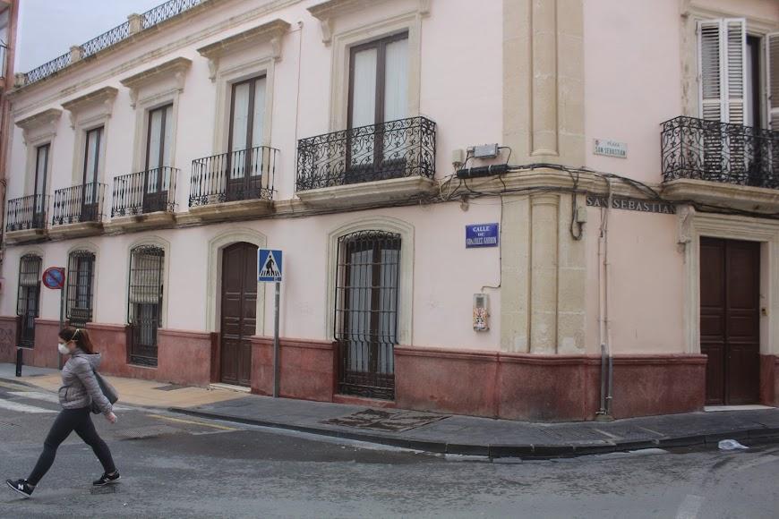 Calle González Garbín.