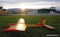 Photo: ...do lietané pri západe slnka,  v Martine, takto sme končili s Palom v N.Z. pred -50 rokmi