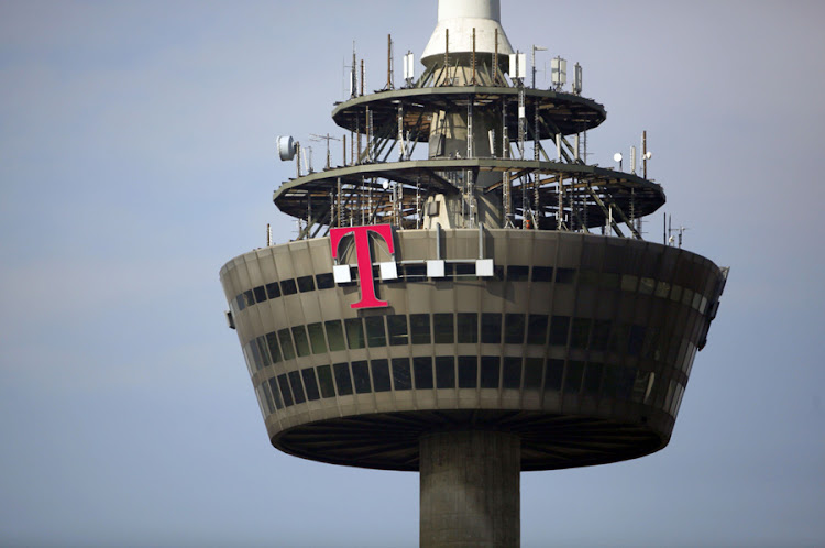 The logo of Deutsche Telekom in the west German city of Cologne. Picture: REUTERS