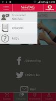 Screenshot of NoteTAG