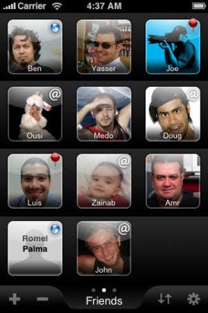 Faces Visual Photo Dialer