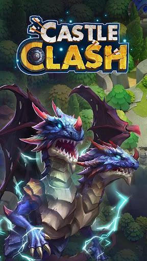 Castle Clash : RPG Guerre et Stratu00e9gie FR  captures d'u00e9cran 1