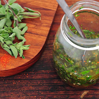 Argentinian-Style Fresh Herb Salsa and Marinade.