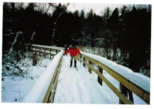 Photo: MTS - 1987 Winter ski trip - Laurie Kirchmeier