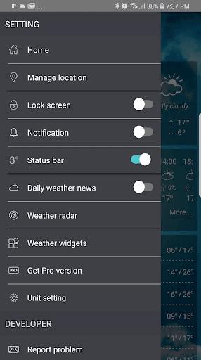 حالة الطقس screenshot 9
