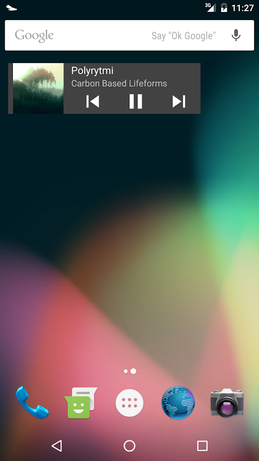Odyssey Music Player- screenshot