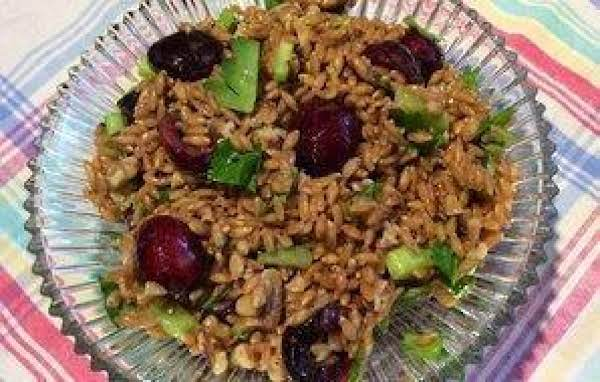 Farro, Cherry, And Walnut Salad Recipe
