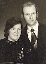 Photo: Gusčius Vaclovas su žmona (gyvena Kartenoje). Nuotrauka iš Vaclovo Gusčiaus asmeninio archyvo.