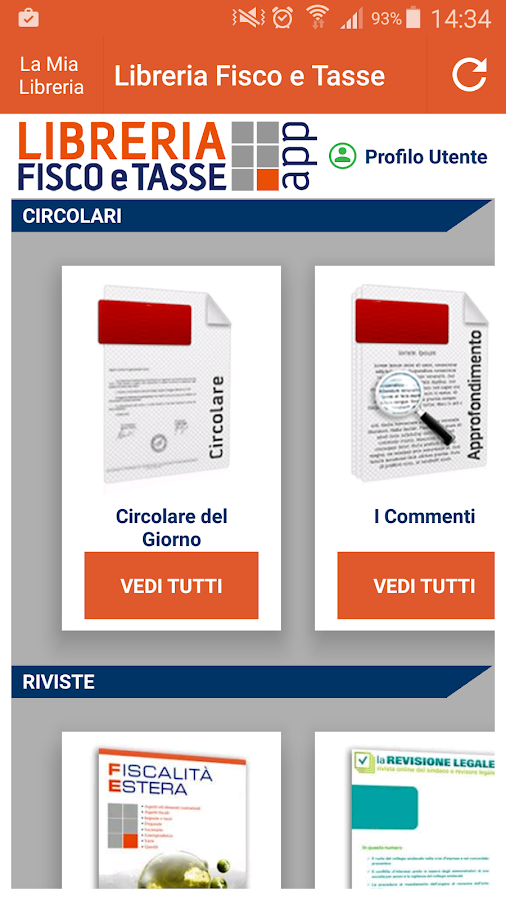 Libreria Fisco e Tasse- screenshot