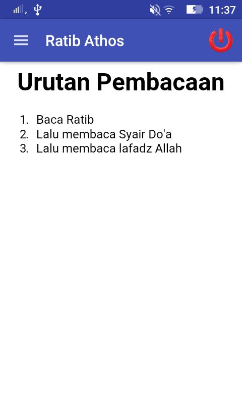 Ratib Al-Athos dengan Dalil- screenshot