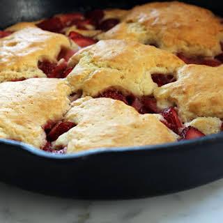 Cast Iron Strawberry Shortcake.