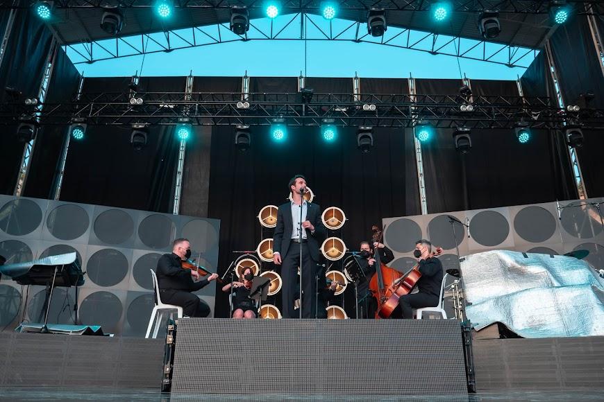 El tenor interpretó grandes piezas de la lírica como Nessum Dorma