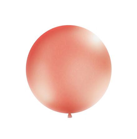 Jätteballong Rosséguld