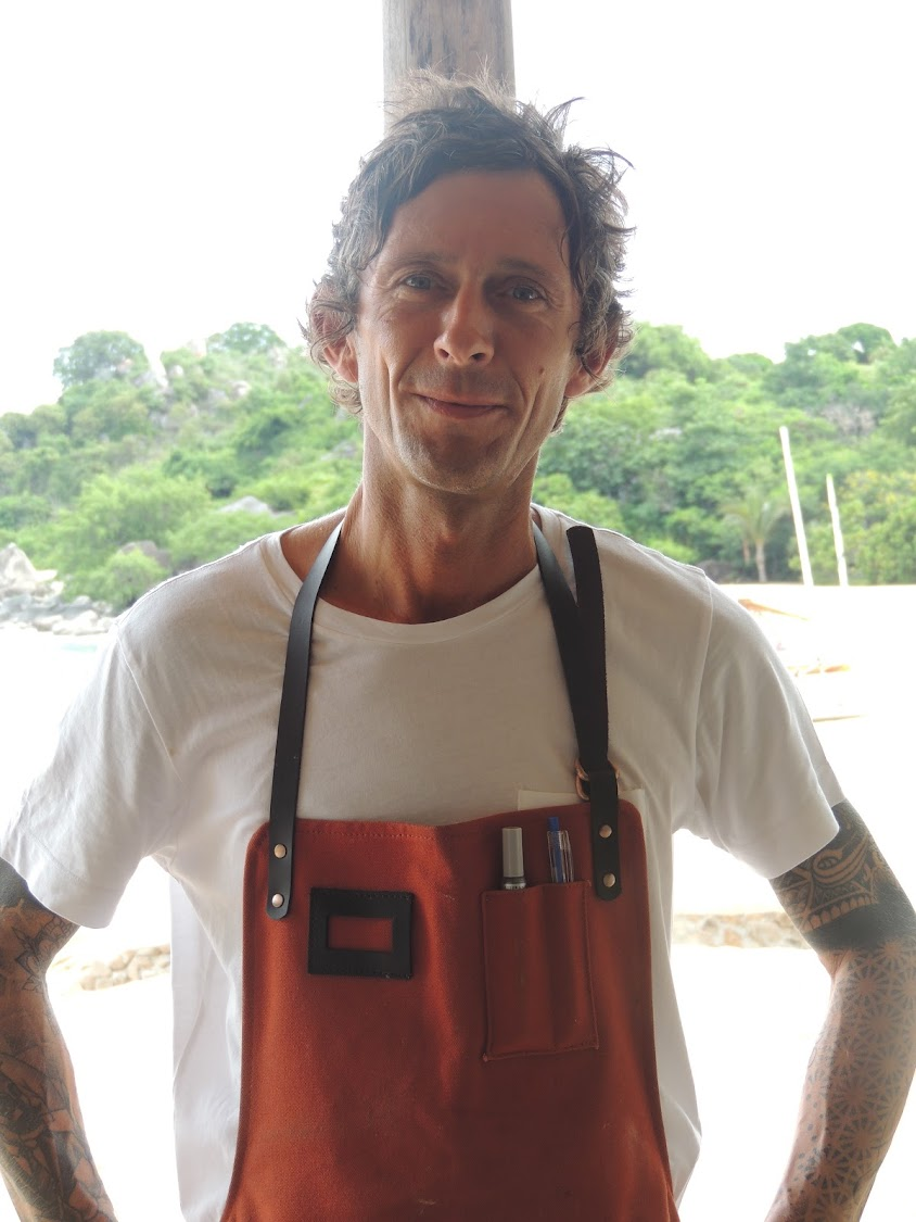 Chef Richard Greenhall at Kaya Mawa