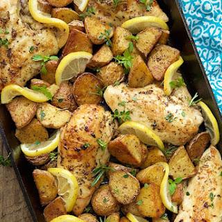 Lemon Herb Chicken Breast Baked Recipes