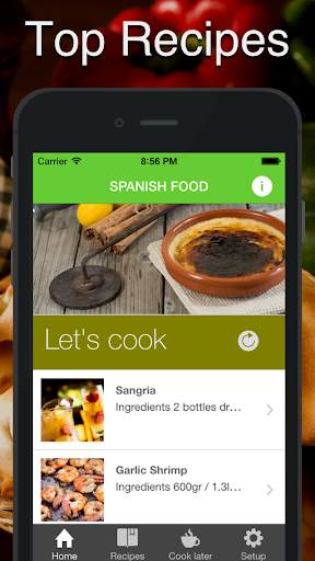 西班牙語 食品。快速輕鬆地烹飪。最佳美食傳統配方和經典菜餚